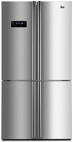 Teka 113430001 - frigorífico americano de 4 puertas nofrost