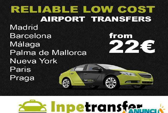 Traslados privados en aeropuertos - málaga