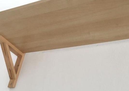 Estanteria madera / balda y soporte, abedul