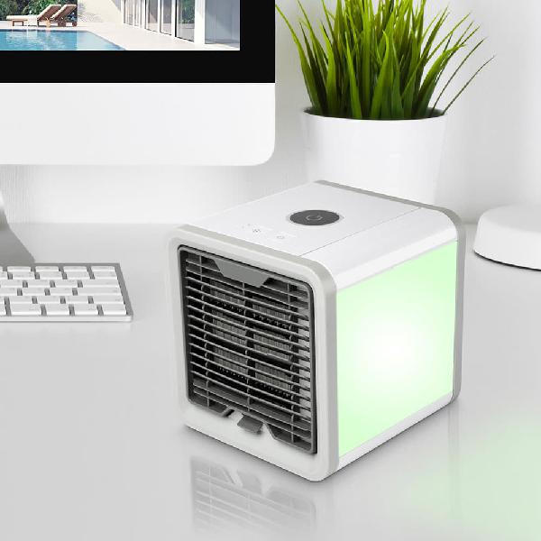 Mini aire acondicionado, enfriador y humidificador de aire