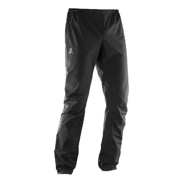 Pantalón largo salomon bonatti waterproof negro