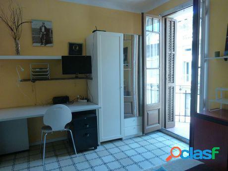Barcelona centro - 2 habitaciones.gastos incluidos amueblado - céntrico