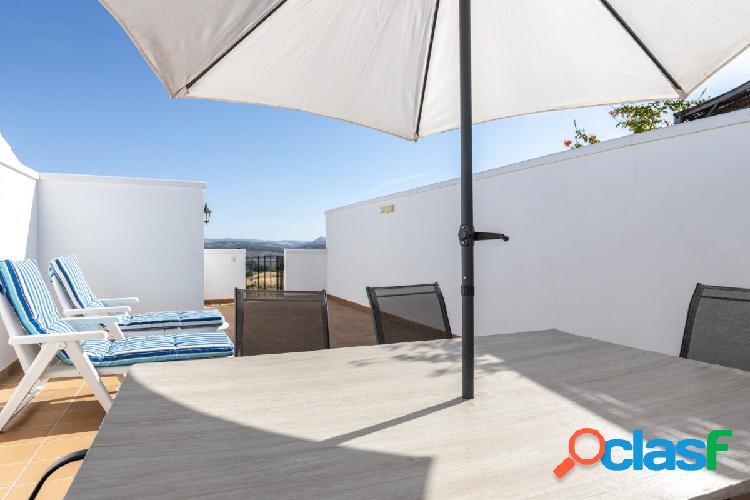 magnifico ático de dos dormitorios climatizado con piscina, solárium 35m2 garaje y trastero 2