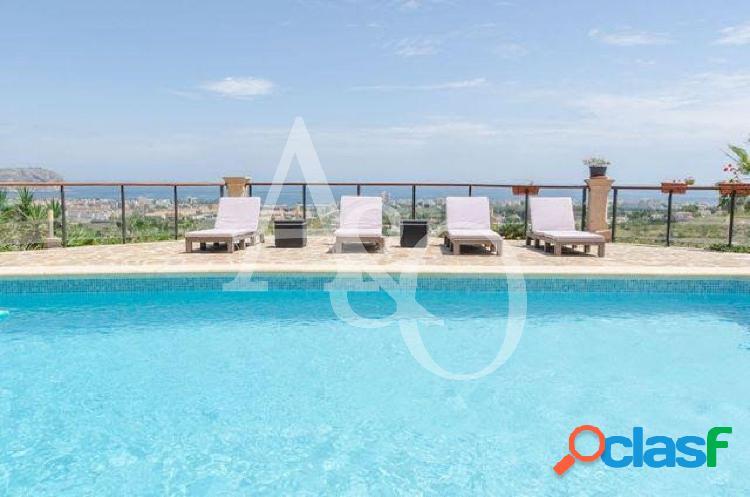 Villa vistas al mar en adsubia jávea xabia