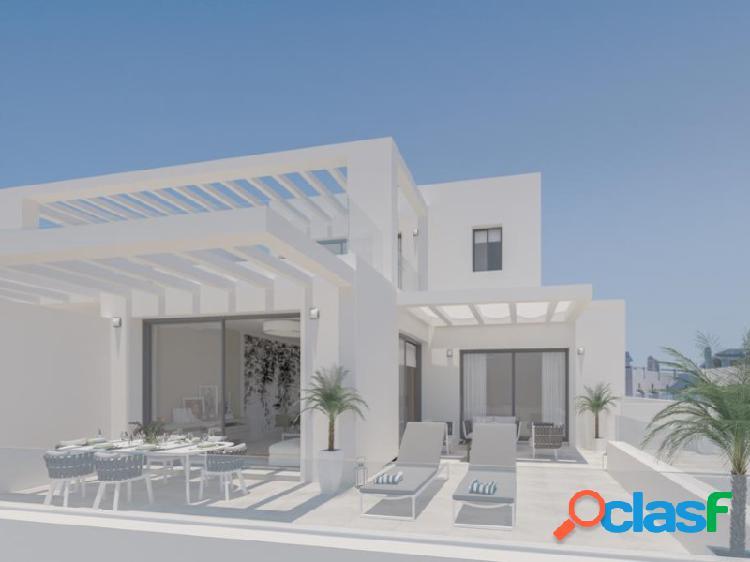 Arquitectura de diseño contemporáneo en un entorno natural de espectacular belleza, con las montañas detrás, una ubicación privilegiada y todo un mundo en la Nueva Milla de Oro - Estepona 3