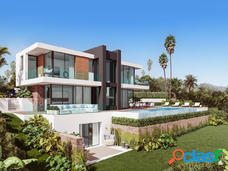 Completa marzo'21 - increíble villa contemporánea de 4 dormitorios en la paloma con impresionantes vistas al mar !!!