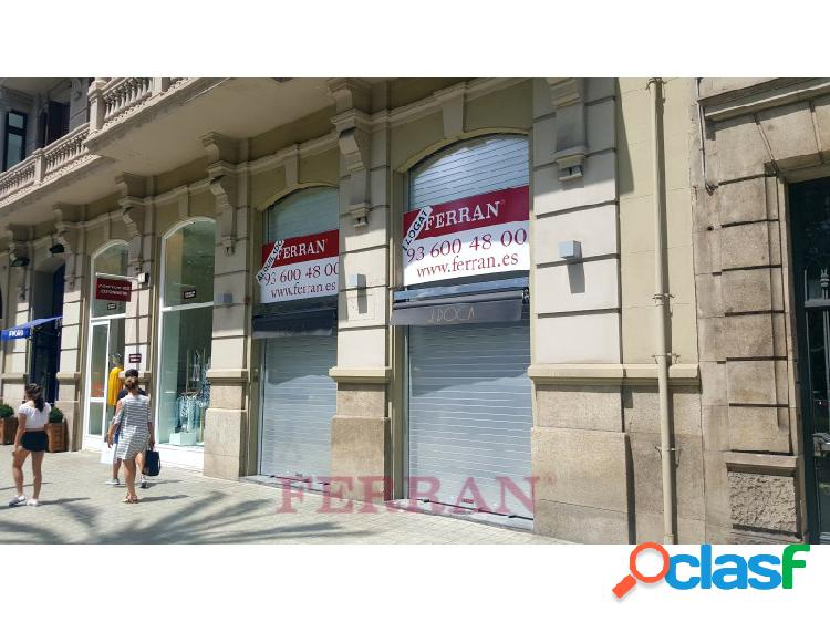 Local comercial en alquiler, av. diagonal, barcelona