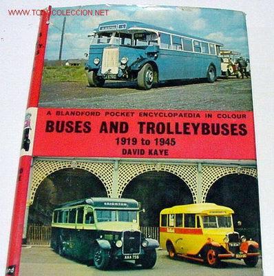 Autobuses y trolebuses - muchas fotos en ingles