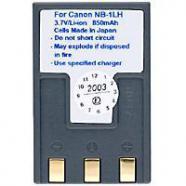 Batería para canon digital ixus 200a, digital ixus 300,