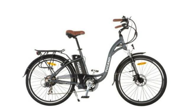 Bicicleta electrica unisex urbana tucano