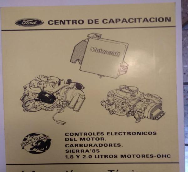 Controles electronicos del motor - sierra 85 - escuela de