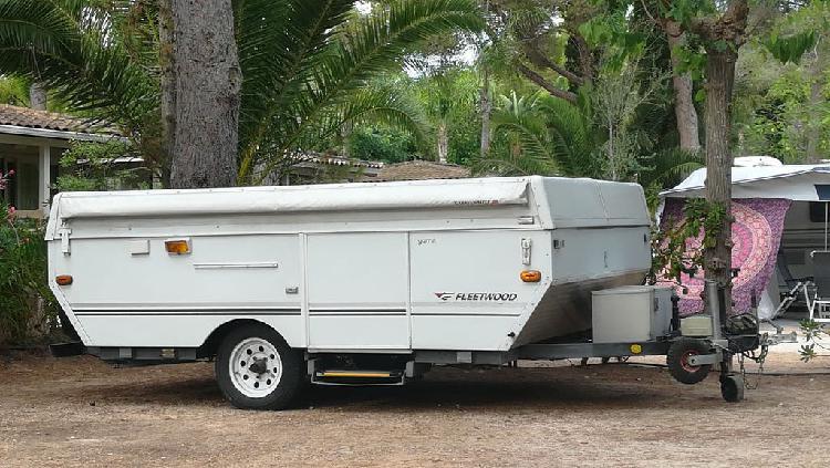 Caravana plegable, marca fleetwod modelo yuma