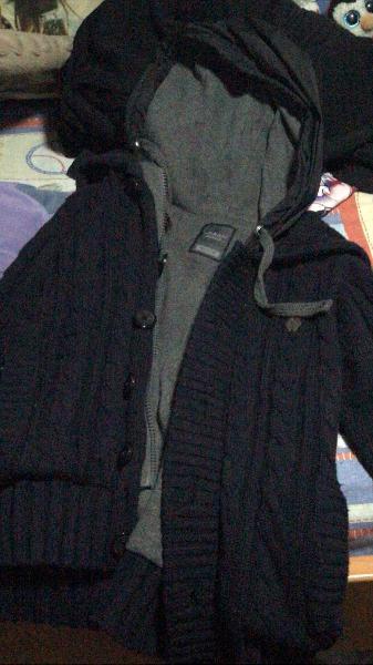 Chaqueta/abrigo azul oscuro