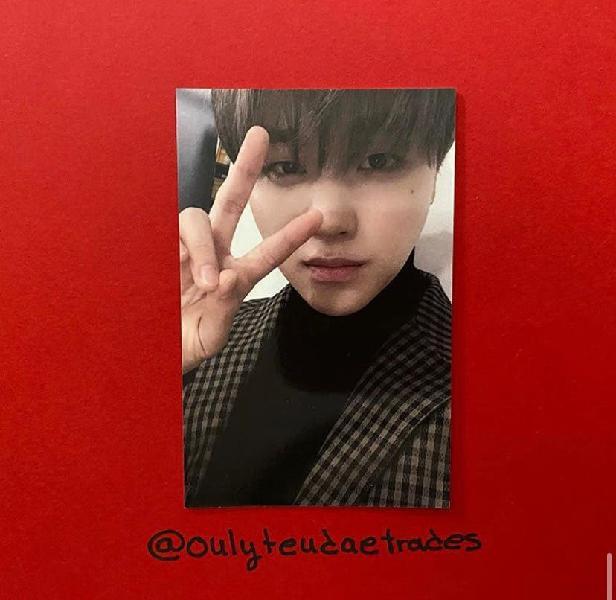 Jinhwan photocard