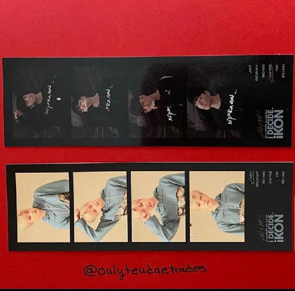 Junhoe y jinwhan 4cut photocards