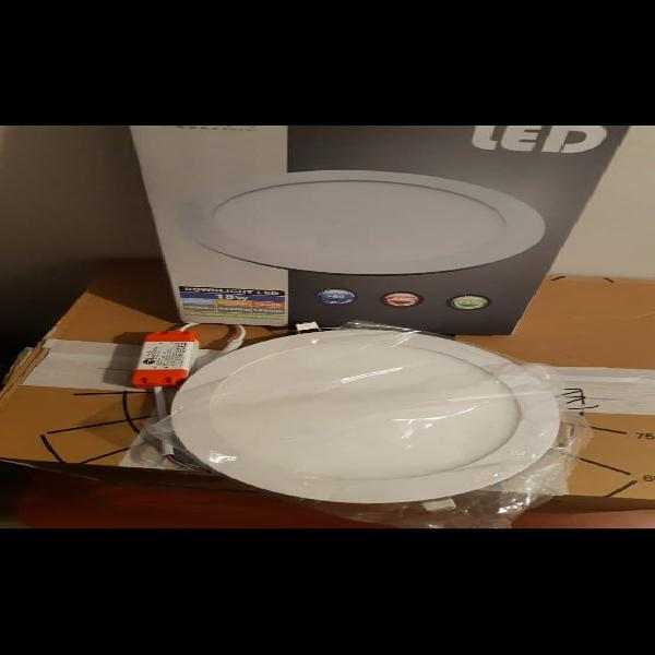 Led empotrable 18w