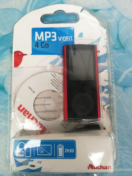 Mp3 reproductor video, 4gb