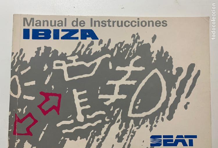 Manual de instrucciones seat ibiza de 1994