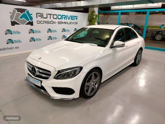 Mercedes clase c c 220 d 4matic amg line de 2015 con 123.000