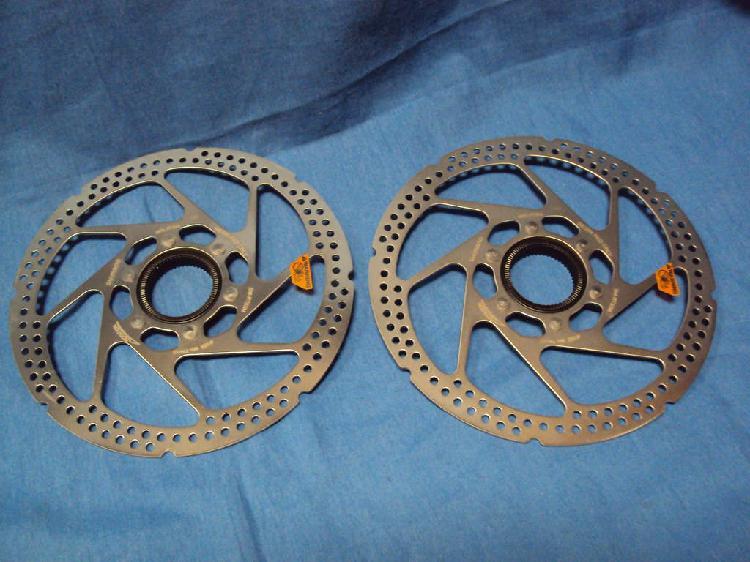 Nuevo. 2 discos shimano 180 centerlock