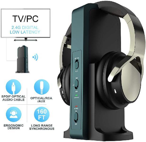 Nuevo!! auriculares profesional inalámbricos tv