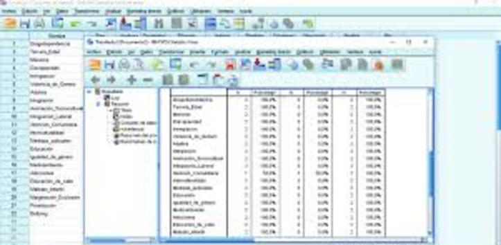Programa estadístico spss, docencia y ayuda en trabajos