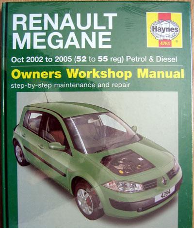 Renault megane (2002/05). haynes owners workshop manual -