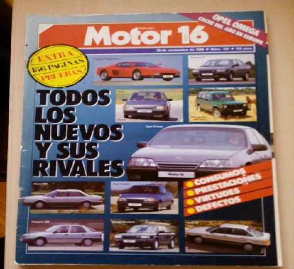 Revista motor 16 nº 162