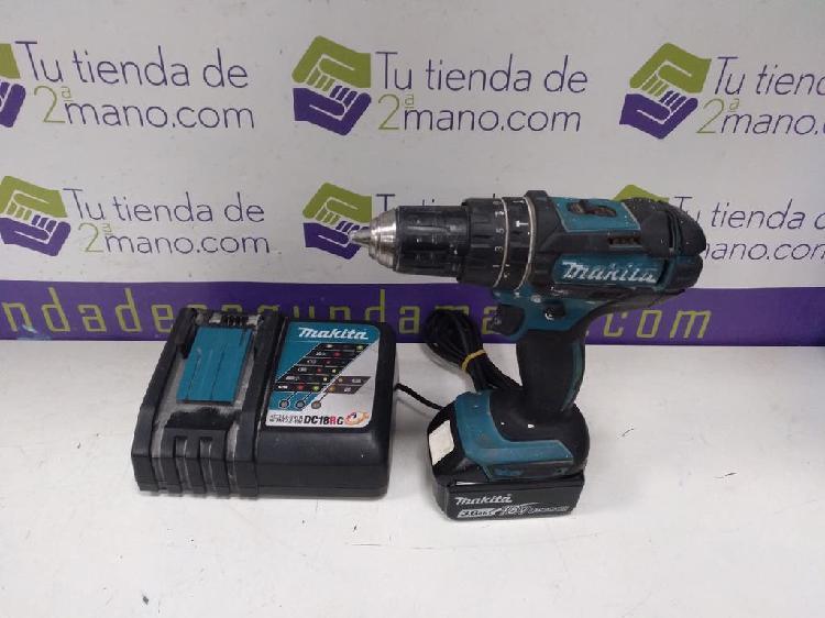 Taladro de bateria makita dhp482