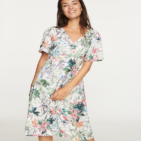 Vestido floral nueva colección oysho