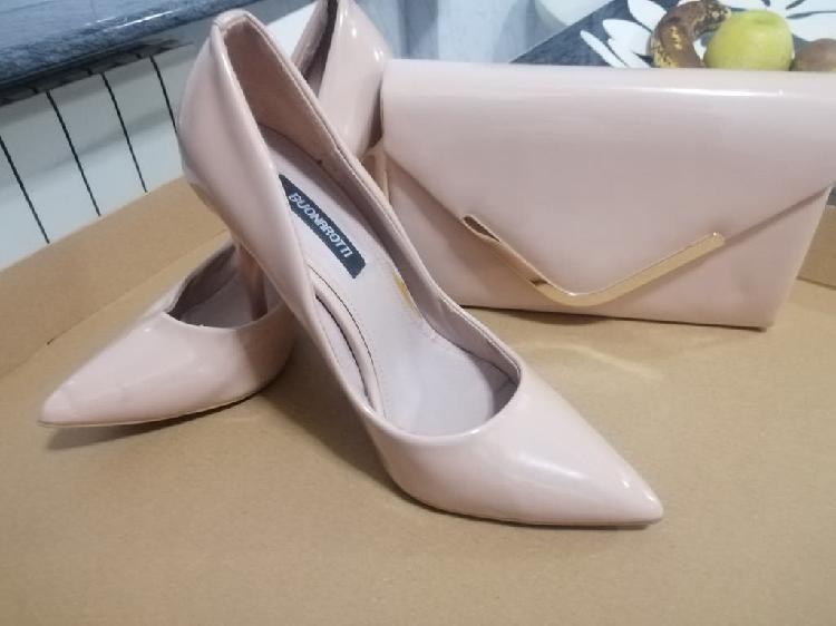 Bolso y zapatos fiesta
