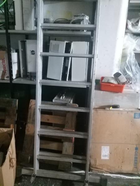 Escalera robusta 4 metros