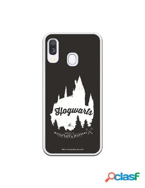 Funda oficial harry potter hogwarts black para samsung galaxy a40