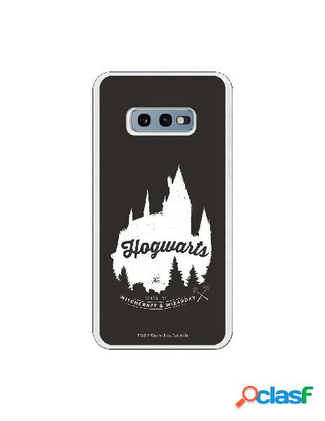 Funda harry potter hogwarts black para samsung galaxy s10e