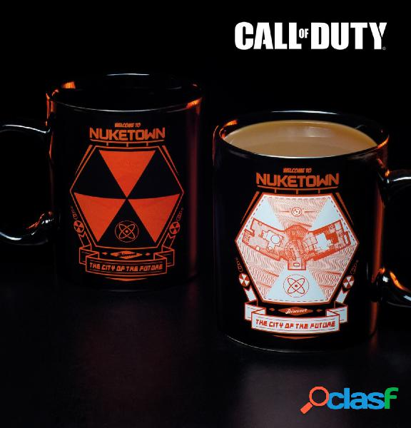 Taza nuketown call of duty termica