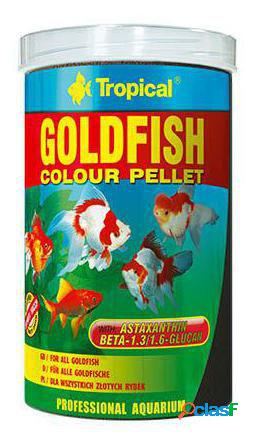 Tropical goldfish color pellet con antioxidantes 1000 ml 1 l