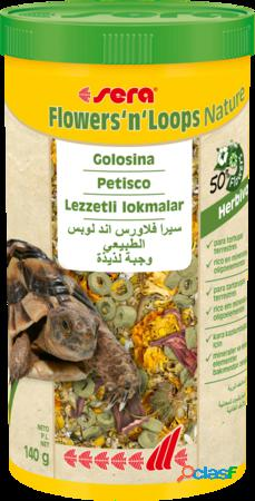 Sera reptil flowers'n loops nature 140 gr