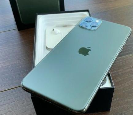 Apple iphone 11 pro max - 64 gb - verde medianoche