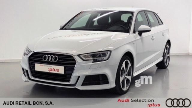 Audi a3 sportback 1.6 tdi diésel blanco