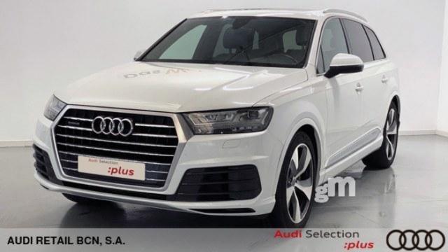 Audi q7 3.0 tdi diésel azul