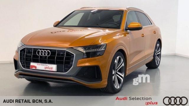 Audi q8 50 tdi diésel naranja