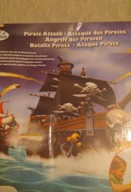 Juego de mesa batalla de piratas