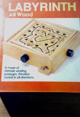 Juego labyrinth (laberinto)