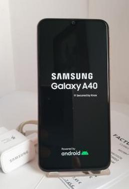 Samsung galaxy a40 64 gb./ 4gram factura nuevo