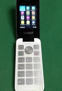 Teléfono móvil básico.