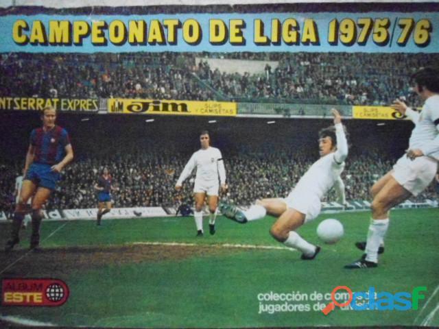 COMPRO ALBUMES CROMOS FUTBOL CROPAN,ETC.