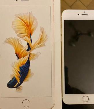 Iphone 6s plus 64 gb en color dorado