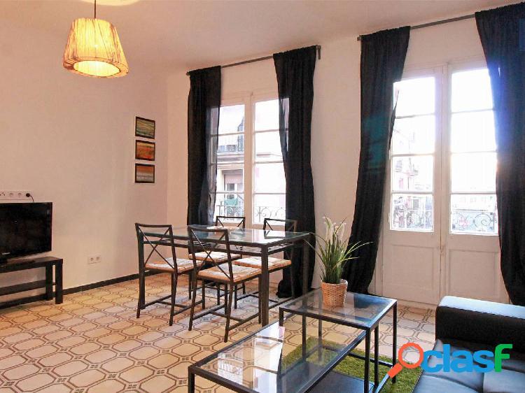 Precioso apartamento en alquiler en poble sec, barcelona.