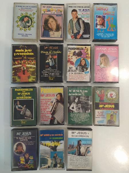 15 maria jesus y su acordeon cintas cassettes