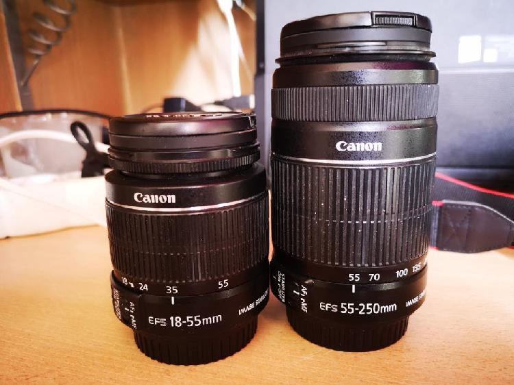 Canon eos 1100d + complementos.